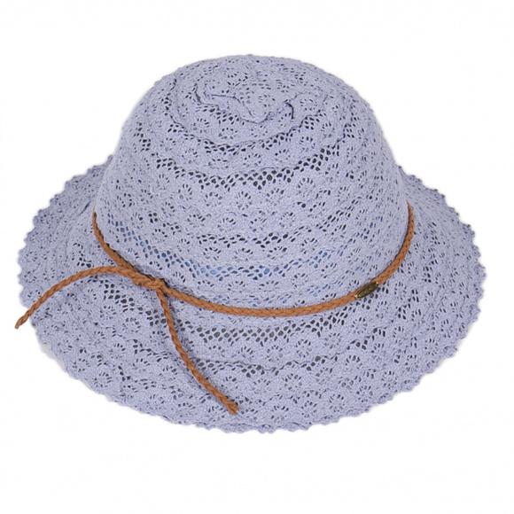 6ca142a9a18 Cotton woven lace childrens bucket hat. Boutique